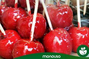 Wie man hausgemachte kandierte Äpfel herstellt