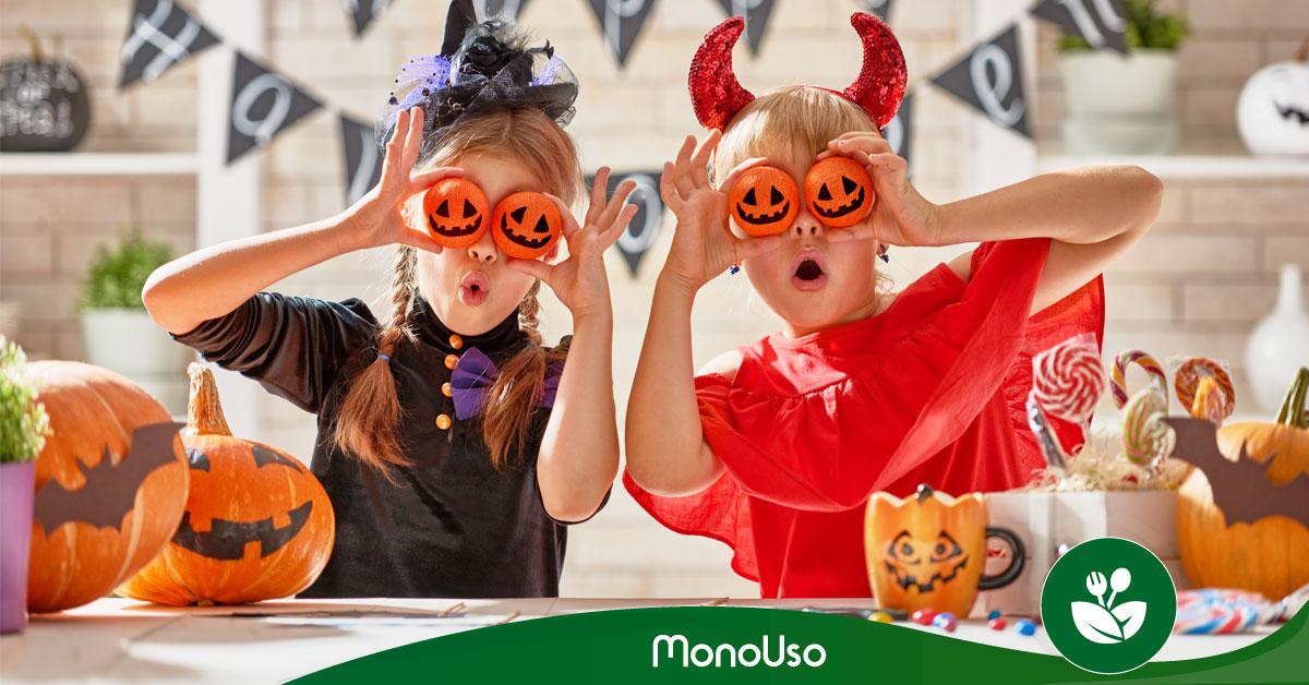 Halloween-Geschirr für Kinder – schnell und einfach
