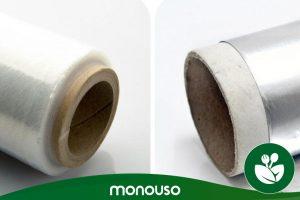 Verwendung von Aluminiumfolie oder Frischhaltefolie in der Küche