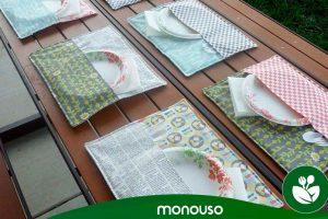 Schmücken Sie Ihren Tisch mit Hotelterrassen-Tischtüchern