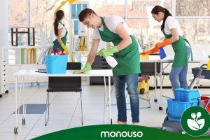 Reinigungsprodukte zur Gewährleistung der Hygiene im Büro